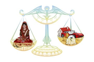 problems of dowry system bride weighed against goods